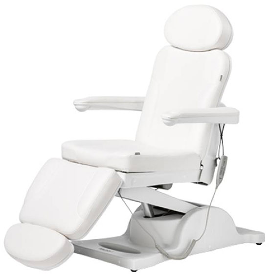 Bentlon Beauty Chair Silver